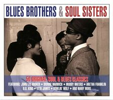BLUES BROTHERS & SOUL SISTERS Patti&The Bluebelles Booker T. & The Mcs 2 CD NEUF