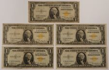 Series 1935-A $1 North African Invasion Notes - Lot of 5