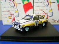 Die cast 1/43 Ford Escort MKII RAC Rally 1979 by Trofeu