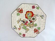 "Vintage Crown Ducal England Porcelain Plate 9"" rb3"