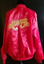 Vintage Alabama Country Music Band Member Fan Club Tour Satin Nylon Jacket Xl