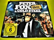 PETER FOX & COLD STEEL - LIVE AUS BERLIN | Digipack OVP  Hip-Hop Shop 111austria