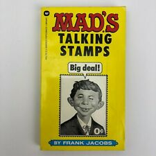 Warner 1974 MAD's Talking Stamps Paperback Comic Book - 1st Printing