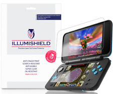 3x iLLumiShield Screen Protector Anti-Bubble for Nintendo 2DS XL