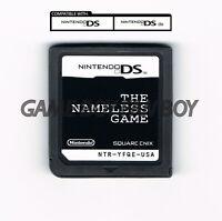 The Nameless Game ENGLISH Translation Nintendo DS Nanashi no Game Custom Cart