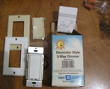 X-10 Decorator Style 3-Way Dimmer Model Ws12A - New