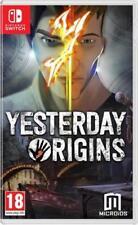 Yesterday Origins Nintendo Switch Game.