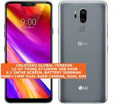 "LG G7 THINQ G710EMW 4gb 64gb Octa Core 16mp Dual Sim 6.1"" Android Lte Smartphone"