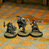 Otherworld Minis D&D Miniatures -  SET OF 3 DROW WARRIORS I  (AWESOME and NEW!!)