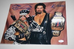 "WWE WWF SHAWN MICHAELS HBK & KEVIN NASH ""DIESEL"" DUAL SIGNED 11X14 PHOTO JSA!"