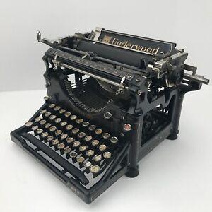 1921 Antique Underwood No.5 Desktop Typewriter  SN #1468926