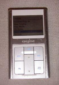 Creative ZEN Sleek (20GB) Digital Media MP3 Player Silver. Works great