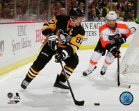 SIDNEY CROSBY – PITTSBURGH PENGUINS - NHL LICENSED 8x10 ACTION PHOTO