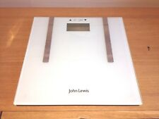 John Lewis Digital Bathroom Scales Weigh Weighing Scale White Only Weigh in KG
