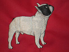 Embroidered Fleece Jacket - French Bulldog AD211 Sizes S - XXL
