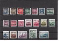 Böhmen & Mähren 1939-1945, komplette Sammlungen aus 1 - 142 +D/P, ungebraucht *