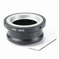 Adapter M42 Objektiv lens to an micro 4/3 m4/3 MFT Olympus Panasonic Pen Lumix G