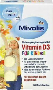 Mivolis Vitamin D3 for CHILDREN as a contribution Bone Growth & Immune Function