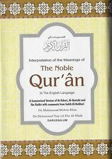 The NOBLE QURAN Arabic Text with English Translation (Small- HB. Indian Print)