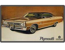 1969 Plymouth Fury Auto Car Refrigerator / Tool Box  Magnet