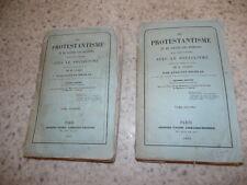 1854.Protestantisme et hérésies dans rapport avec socialisme.Auguste Nicolas