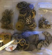 Lot of Steampunk Gears 230+ large, medium, small ~ scrapbooking, crafting