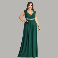 c37d89e7a78 Evening Prom Gowns Beaded Formal Bridesmaid Midnight Dresses 08697  Ever-Pretty Dark Green 10