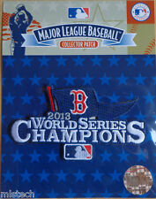 MLB Patch World Series Champions 2013 Boston Red Sox Official Licensed