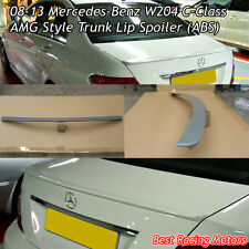 A Style Trunk Spoiler Wing (ABS) Fits 08-14 Mercedes-Benz W204 C-Class