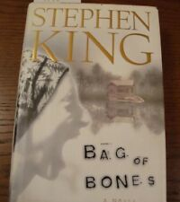 BAG OF BONES First Edition Stephen King  1998 1st Scribner HC w/DJ   SK6