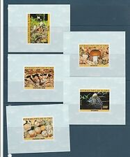 Congo république bloc  champignons   1985  num: BF des 764/68  ND **