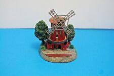 Danbury Mint - Moulan Rouge Windmill Paris France