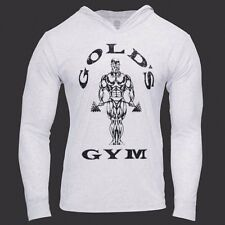 Men's Bodybuilding Hoodies Gym Clothing Gold's Gorilla Wear Muscle Tracksuits