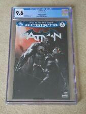 Batman #1 dell 'otto sketch Variant CGG 9.6 - 2016-DC COMICS