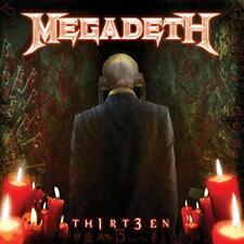 Megadeth Th1rt3en Thirteen 2 LP Set 180 Gram Black Vinyl NEW Sealed
