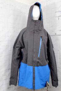 686 Men's GLCR GoreTex GT Shell Snow Jacket Large, Strata Blue New 2020