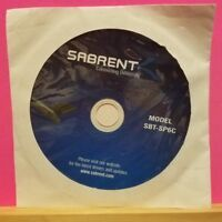 Pre-owned ~ Sabrent Model SBT-SP6C Software Disc (CD-ROM, 2007)
