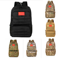 Unisex Outdoor Military Tactical Bag Camping Hiking Trekking Backpack