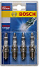 Bosch 0242229913 High Performance WR8DPX Platinum Plus Spark Plug P7-4 Set of 4