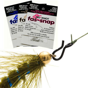 No Knot Fas Snaps - Large