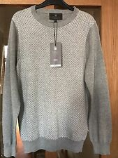 MARKS & SPENCER MENS GREY JUMPER SIZE SMALL. BNWT