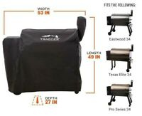 Genuine TRAEGER 34 Series Full Length Pellet Grill Cover New in Box BAC380