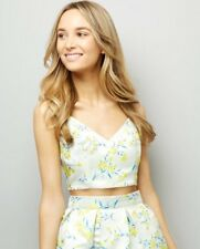 New Look - Floral Jacquard Pattern Bralet - Size 8 - BNWT