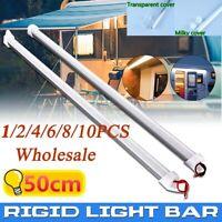 50CM Aluminium shell DC 12V 72SMD 5630 LED Hard Rigid Strip Bar Tube Waterproof
