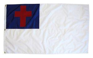 5'x8' Christian Christ Religious Cross Jesus Flag 5x8 Foot Flag Banner Large