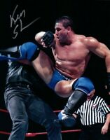 Ken Shamrock Autograph Pre Print Wrestling Photo 8x6 Inch Photograph Hologram