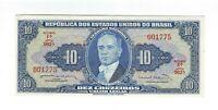 10 Cruzeiros Brasilien 1963 C020 / P.167b - Brazil Banknote