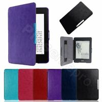 Ultra Slim Magnetic Leather Smart Case Cover for Amazon Kindle Paperwhite