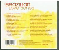 BRAZILIAN LOVE SONGS - 2004 UK 17-track CD album - BRAND NEW CD - FREE UK P+P