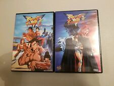 Street Fighter II Dvd lot Vol. 1 and Vol. 2